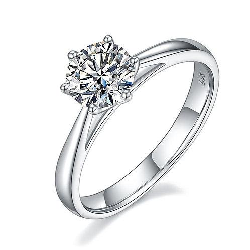 Classic 1 Carat Diamond Engagement Ring