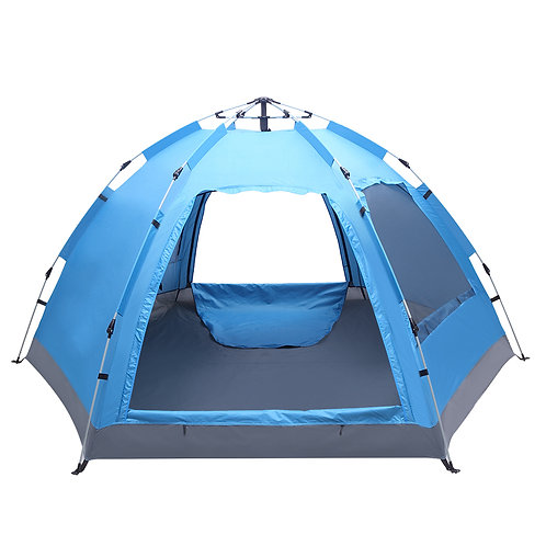 3-4 Person Family Waterproof Pop Up Tent for Camping & Hiking