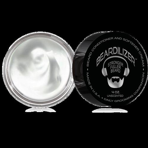 Beardilizer Beard Cream and Conditioner 4oz (Unscented)