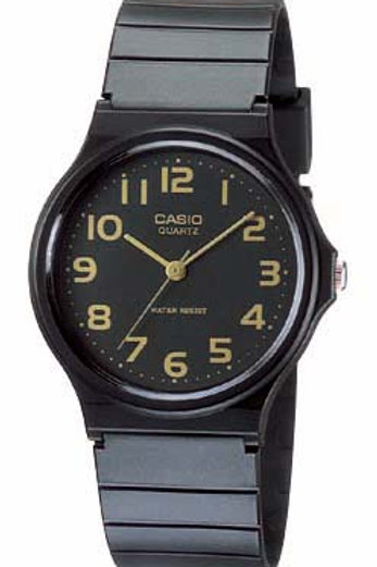 Casio Men's Watch with Black Resin Band