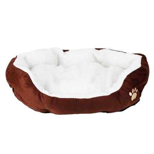 Pet Bed and Pad in Brown Small