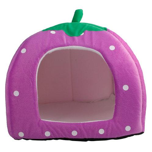 Soft Cotton Strawberry Style Pet House