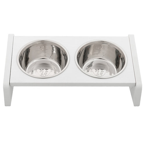 Stainless Steel Non Slip Double Pet Dish