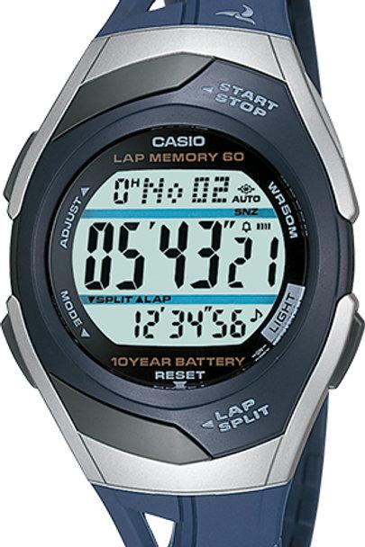 Casio Women's Runner Series 60-Lap Digital Chronograph Watch