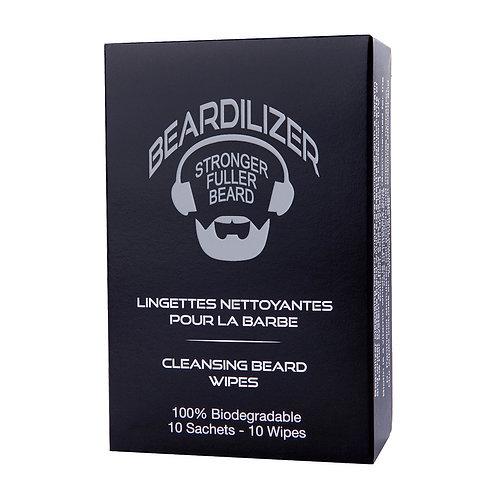 Beard Cleansing Wipes - 10 Pack