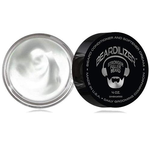 Beardilizer Beard Cream and Conditioner 4oz (Sandalwood)
