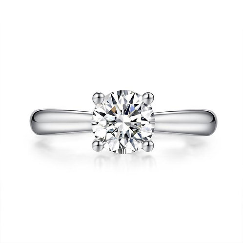 1 Carat Diamond Ring Wedding Engagement