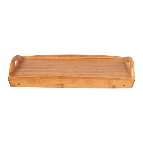 Foldable Curved Breakfast Tray Burlywood