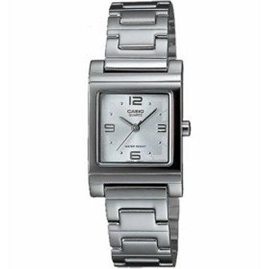 Casio Women's  Analog Quartz Silver Watch