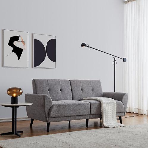 "Modern 71"" Sofa in Gray"