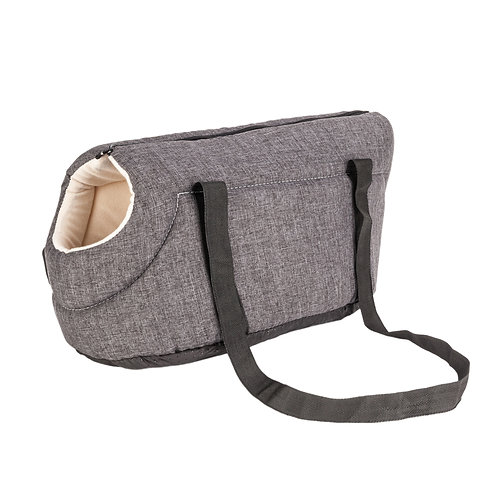 Pet Carrier Travel Bag Gray - Small