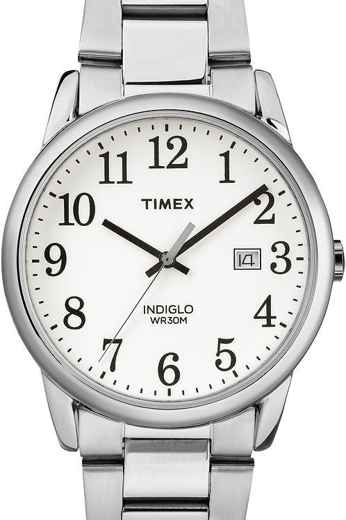 Timex Men's Easy Reader Silver Bracelet Watch