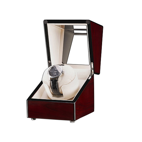 Automatic Rotating Wood Display Case for Watches