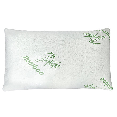 Premium Firm Hypoallergenic Bamboo Fiber Memory Foam Pillow King Size