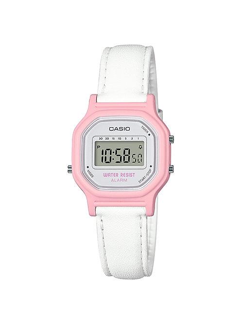Casio Women's 'Classic' Quartz Resin Casual Watch (Pink)