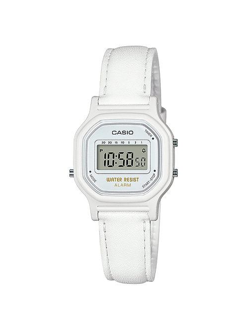 Casio Women's 'Classic' Quartz Resin Casual Watch (White)