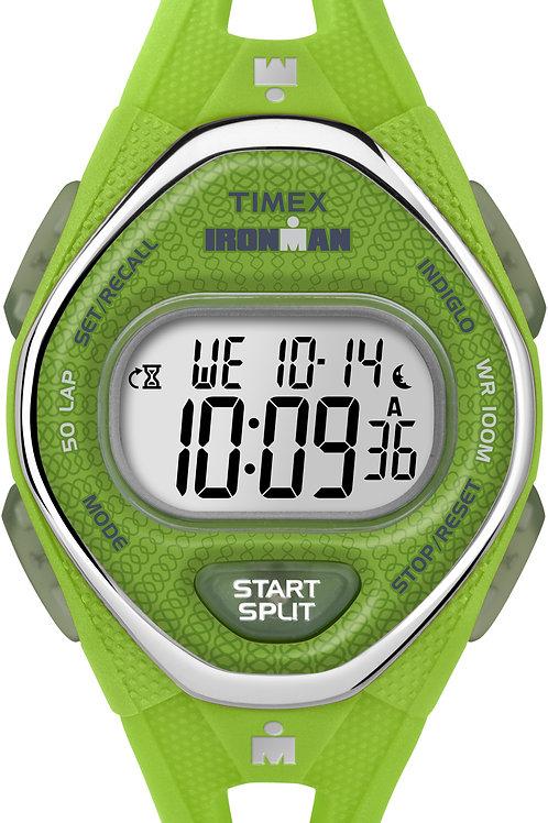 Timex Women's Sleek 50 Mid-size Green Sport Watch