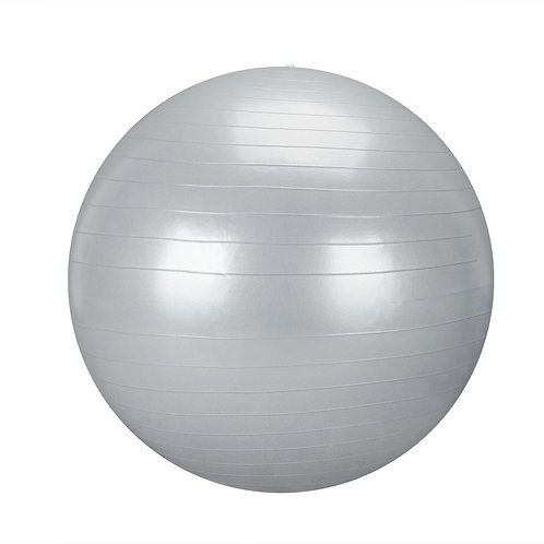 Smooth Yoga Ball in Silver