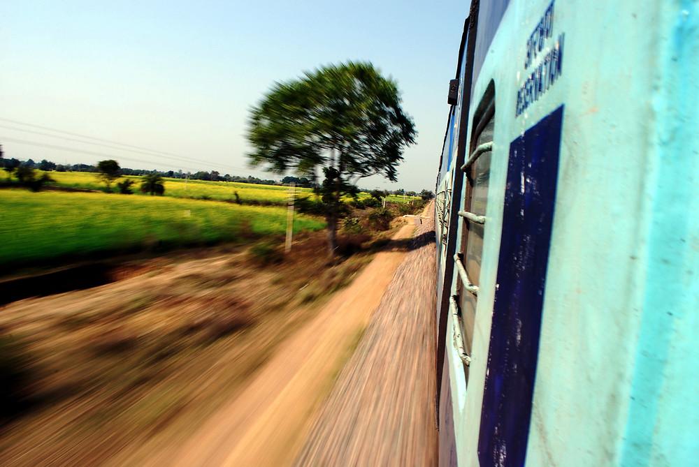 India, train