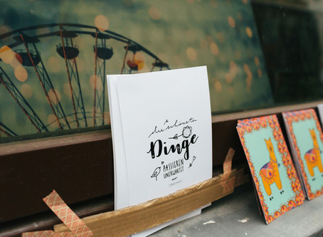 """""""Go with the flow"""" - Etsy Pop Up Shop in Leipzig"""