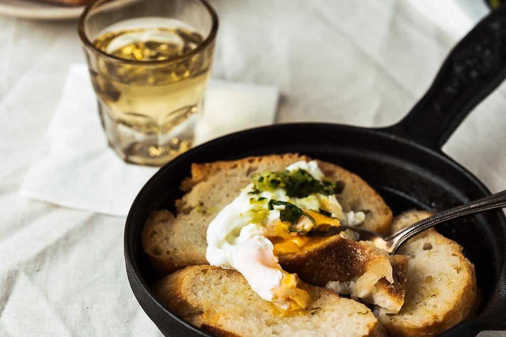 Sopa Alentejana, Portugiesisch essen, portugiesische Suppe