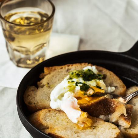 """Portugiesisch essen - """"Sopa Alentejana"""" - Brotsuppe für alle!"""