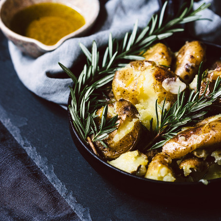 "Portugiesische Ofenkartoffeln ""Batatas ao Murro"" oder auch ""verkloppte Kartoffeln"""