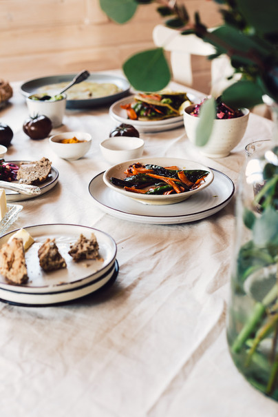 Buchweizen Wraps & rote Beete Salat