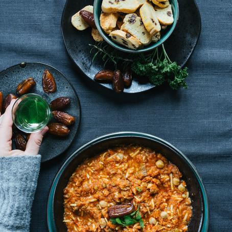 """""""Friends in my kitchen""""- Ramadan Suppe- Harira aus Marokko"""