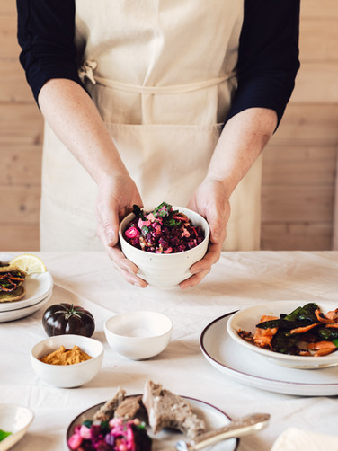 Buchweizen Wrap & Rote Beete Salat