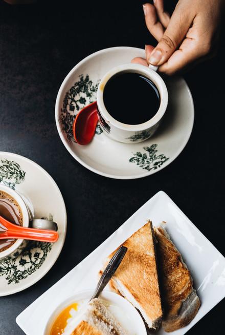Kopi Coffee & Kaya Toast