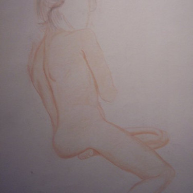 This was a model from my life drawing class.