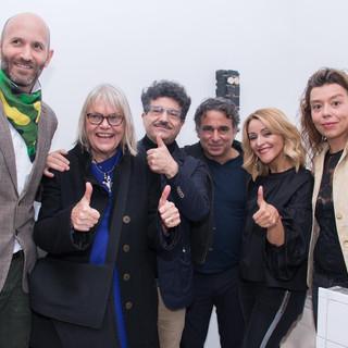 (L to R): Francisco Bustamante, CS, Octavio Zaya, Omar Lopez-Chahoud, Alejandra Castro Rioseco and Manuela Viera-Gallo, 2017
