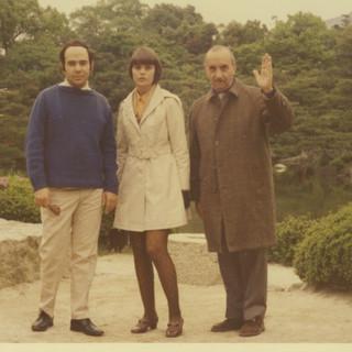 (L to R:) Architect Joaquin Gamboa, CS and Fernando Gamboa, 1970
