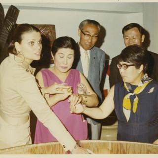 CS in Osaka, Japan, 1970
