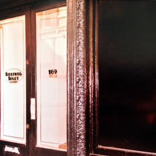 Facade of Stellweg-Seguy Gallery, c. 1983