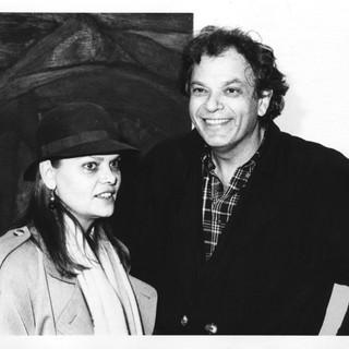 CS with artist Jaime Davidovich, 1987