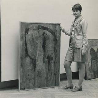 Installing Rufino Tamayo solo at Venice Biennial, 1968