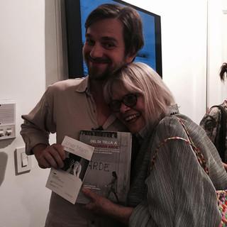 CS and Tona Pellizzi, 2015
