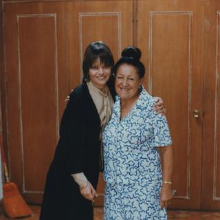 CS with Olga Tamayo, 1979