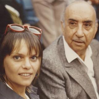 With Fernando Gamboa, c. 1979-80