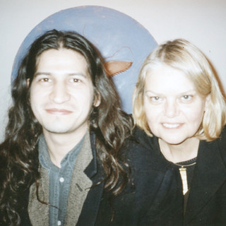 With Carlos Garaicoa, 1990s