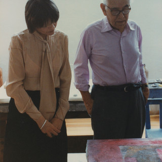 CS with Rufino Tamayo in his studio, 1979