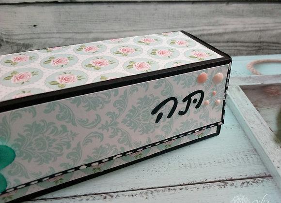 קופסת תה מעוצבת