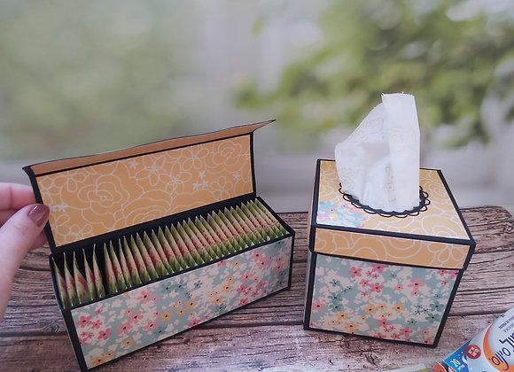 מארז חורף - קופסא לטישו וקופסא לתה
