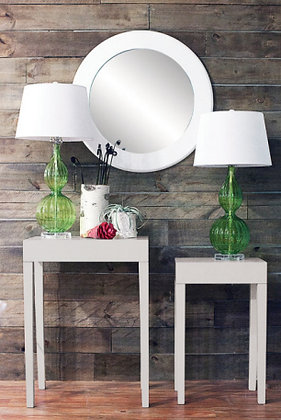 Lacquered Finish Side Tables