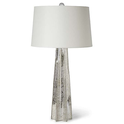 Antique Mercury Glass Star Lamp