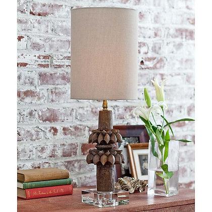 Rustic Artifact Lamp