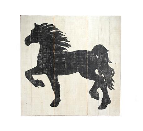 3 PC Horse Board