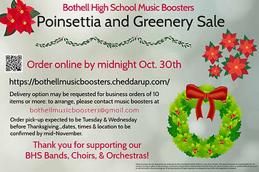 Bothell Music Boosters Wreath Garland Fu